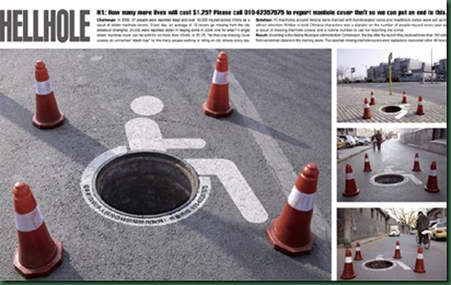 open-manhole-awareness-ad