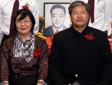 Chuang Shiou Huey i mistrz Wu Kwong Yu