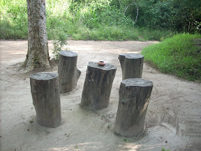 mudhouse mud house hotel anamaduwa puttalam sri lanka tree stump stools