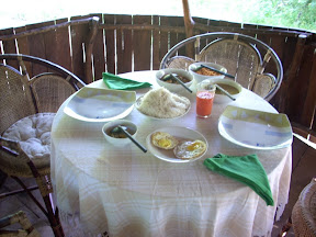 mudhouse mud house hotel anamaduwa puttalam sri lanka breakfast on table food string hoppers curry
