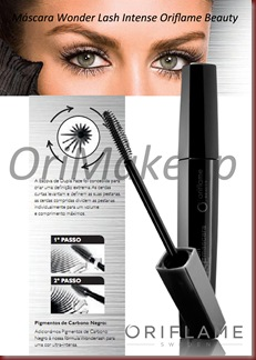 Máscara Wonder Lash Intense Oriflame Beauty