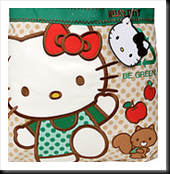 Hello Kitty goes Green