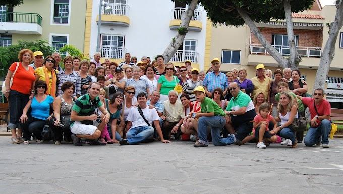 Excursión a Tenerife Organizada por la Asociación de Vecinos Puerto de Santa Lucía