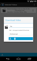 Screenshot of Android Video Downloader - AVD