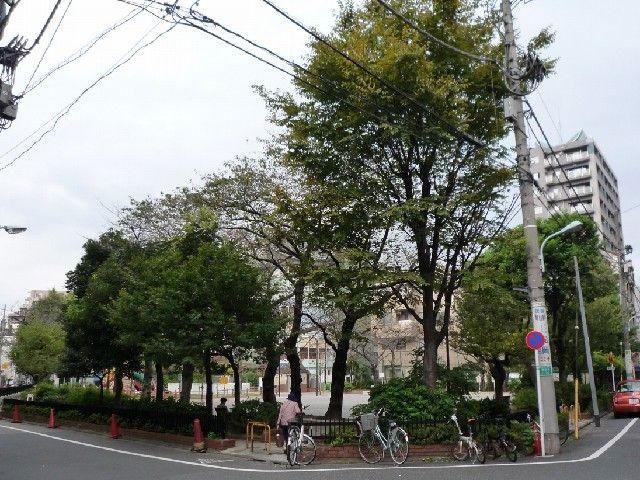 「赤羽接遇所」跡の飯倉公園
