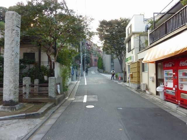 新道・本光寺近辺