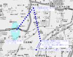 御田八幡神社社地の変遷
