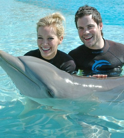 hilary-duff-dolphins