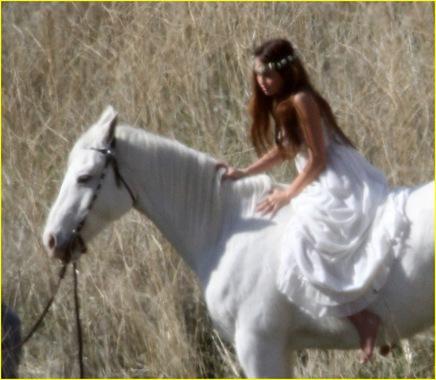 Miley  caballo1