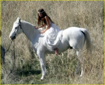 Miley  caballo2