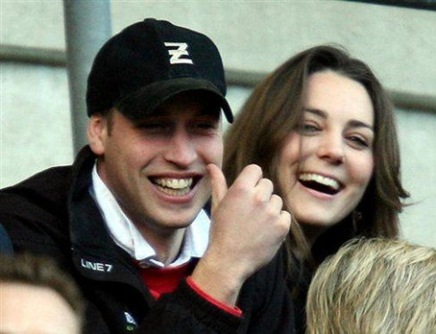 William y Kate Middleto