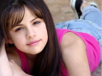 Selena Gomez -niña