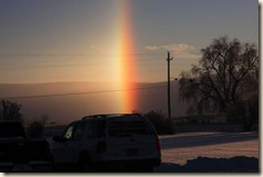 sun dog 12-24-08 by Andrea Tolman, Basin WY