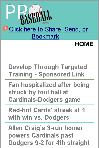 St. Louis Baseball News