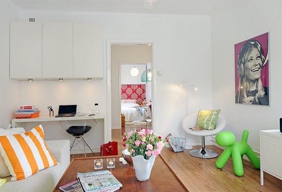 Ideias para apartamentos pequenos blog de for Apartamentos pequenos bien decorados