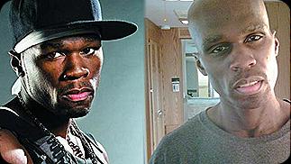 """50 Cent: Antes e depois da dieta para seu personagem em """"Things Fall Apart"""""""