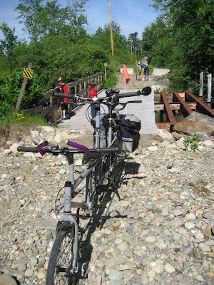 Trail-a-Bike offroad