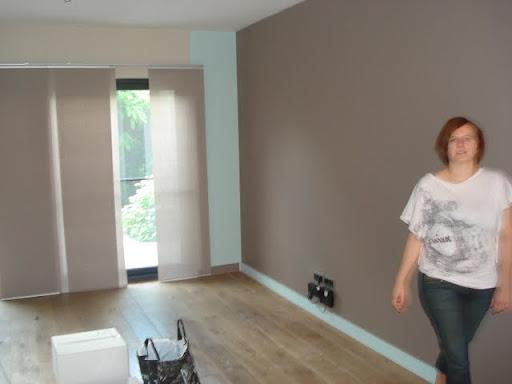 Woonkamer Blauw Verven: Keuken blauw verven de paarse kamer hier is ...