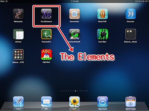 The Elements 在 iPad 上的模樣