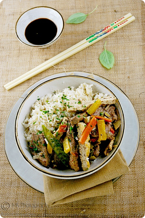 Beef Vegetable Tofu StirFry (01) by MeetaK