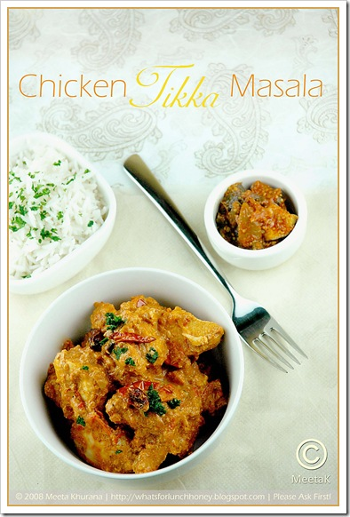 Chicken Tikka Masala (02) by MeetaK