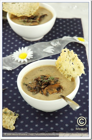 Mushroom Cream Soup (03) by MeetaK