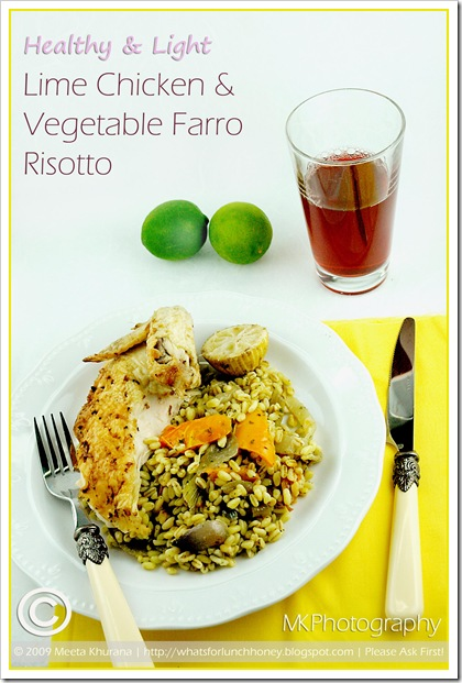 Lime Chicken Veg Farro (02) by MeetaK