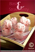 Strawberry Basil Ice Cream 01 framed