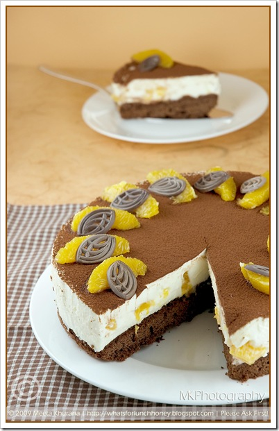 Orange Tiramisu Torte (01) by MeetaK