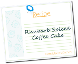Recipe Card-RhubarbCake