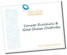 savory clafoutis-Meeta Recipe Card