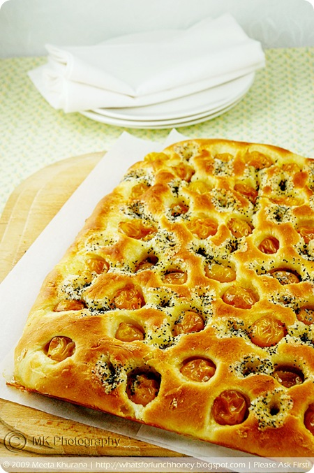 Mirabelles Lemon Poppy Seed Foccacia (01) by MeetaK