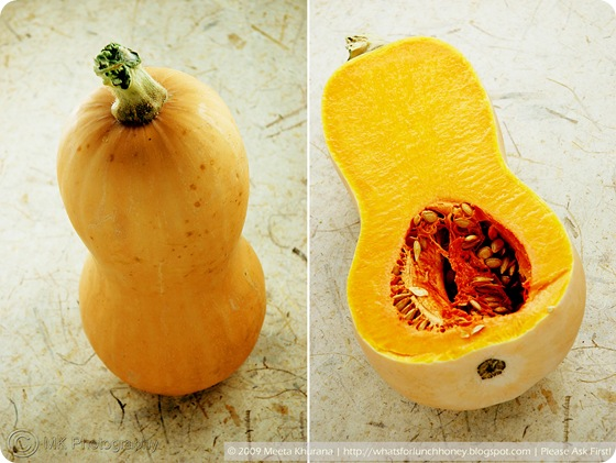 Butternut Squash Collage by MeetaK