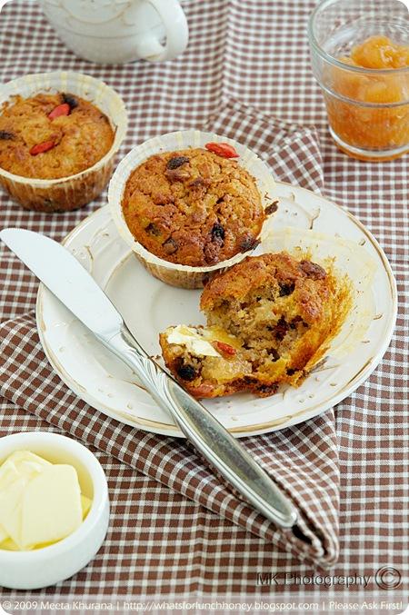 Granola Goji Muffins (03) by MeetaK