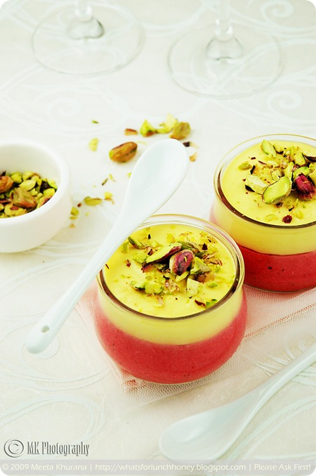 Cranberry Mango Mousse (02) by MeetaK