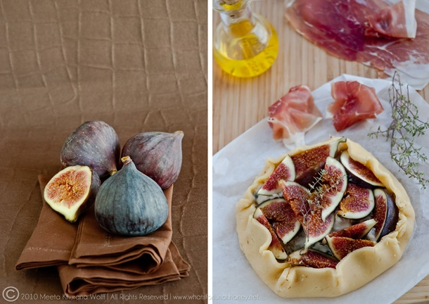 Fig Gorgonzola Crostatam (001) Diptych by MeetaK