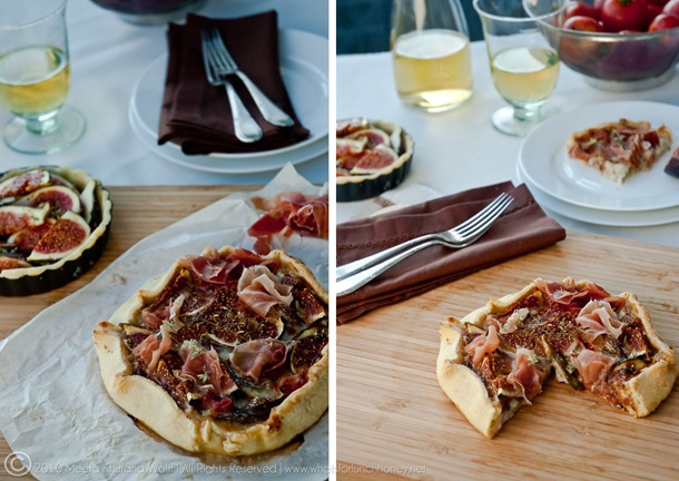 Fig Gorgonzola Crostata (002) Diptych by MeetaK