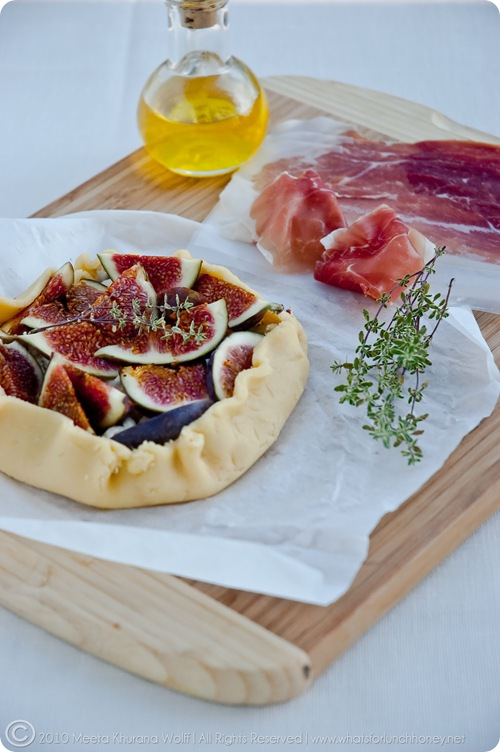 Fig Gorgonzola Crostata (0019) by MeetaK
