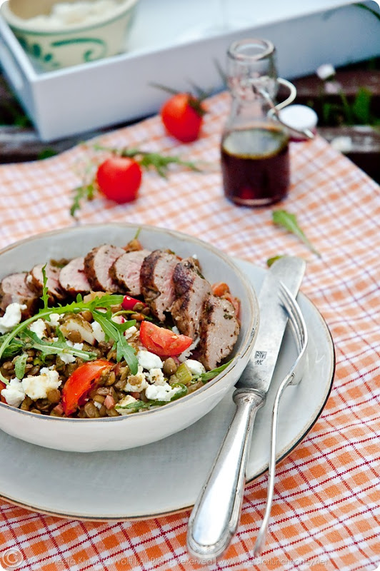 Lamb Lentil Salad (0005) by Meeta K. Wolff