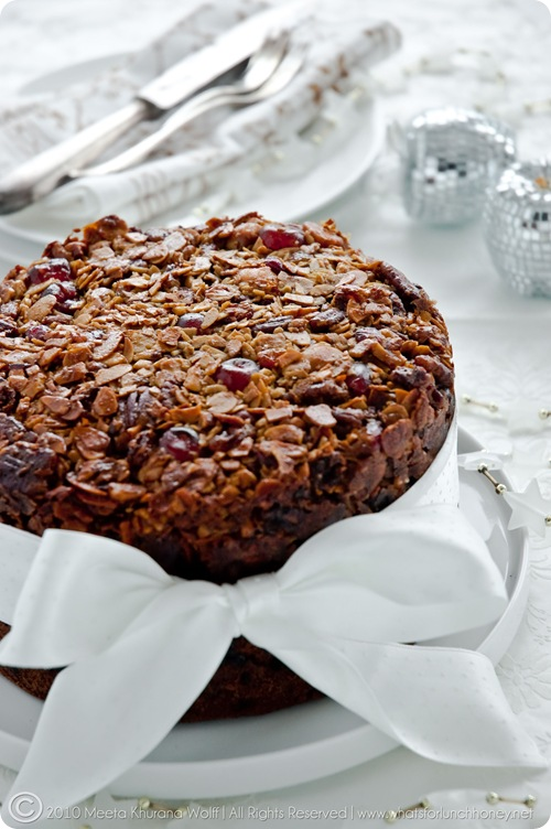 Florentine Christmas Cake (0016) by Meeta K. Wolff