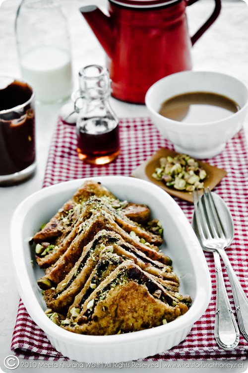 Chocolate and Pistachio French Toast (0003-2) by Meeta K. Wolff