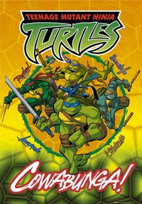 Turtles in a Half-Shell!  Turtle Power!
