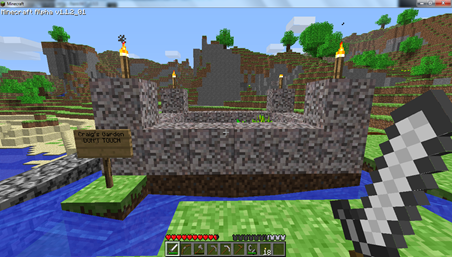 Craig's Minecraft Garden