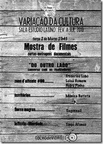 Cartaz Mostra Cinema