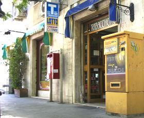 Sizilien - Addiopizzo - Die schutzgeld-freie Tabaccheria Principe di Villafranca in Palermo