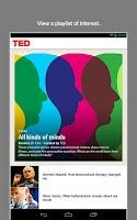 Screenshot of TED