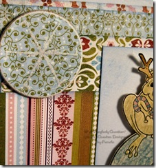 Scrap Online Card Wk 1 - CLOSE UP