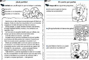 DEBERES DE VACACIONES PARA NIÑOS – COMPRENSIÓN LECTORA
