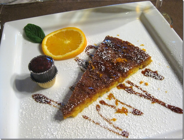outstanding orange tart