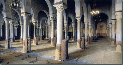 Sala de oraciones de la gran mezquita